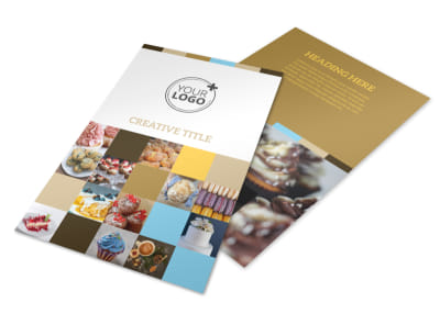 Smell Good Bakery Flyer Template 3 preview