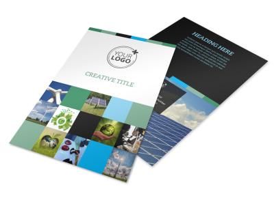 Green Energy Technology Center Flyer Template 3 preview