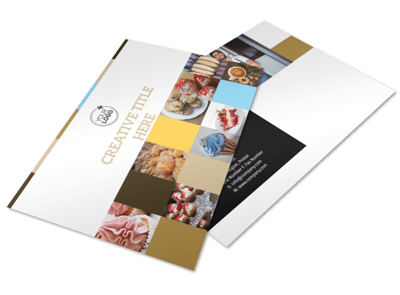 Smell Good Bakery Postcard Template