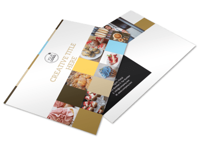 Bakery Postcard Templates Template Preview