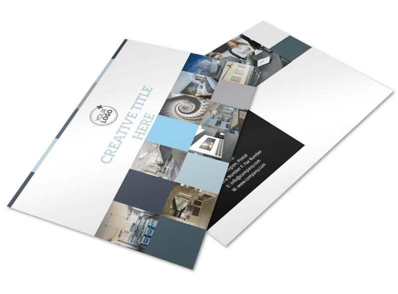Architecture & Design Studio Postcard Template Preview 4