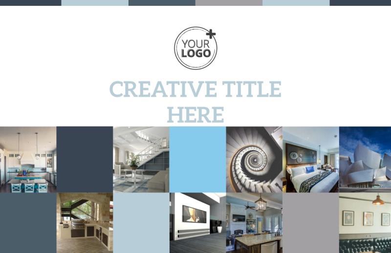 Architecture & Design Studio Postcard Template Preview 2