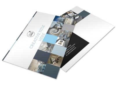 Architecture & Design Studio Postcard Template preview