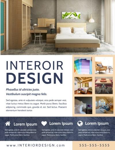 Creative Interior Design Flyer Template Preview 1