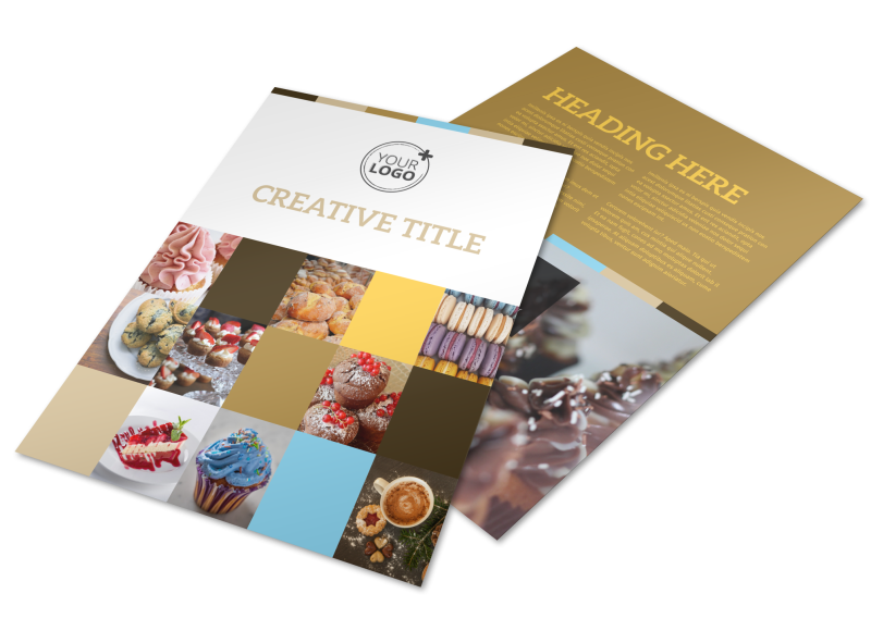Smell Good Bakery Flyer Template Preview 1