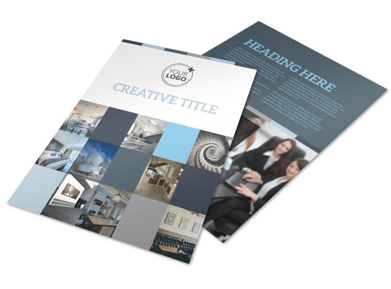 Architecture & Design Studio Flyer Template   MyCreativeShop