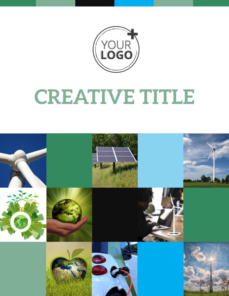 Green Energy Technology Center Flyer Template Preview 2