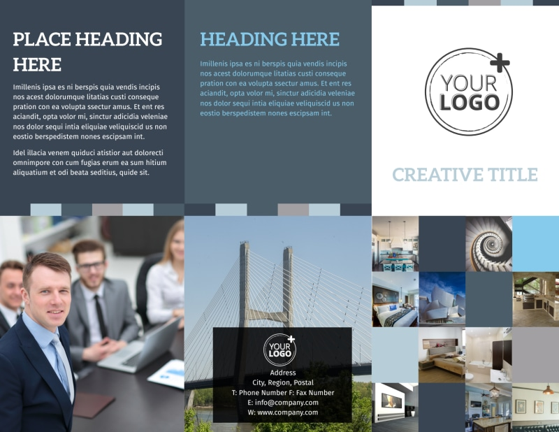 Architecture & Design Studio Brochure Template Preview 2