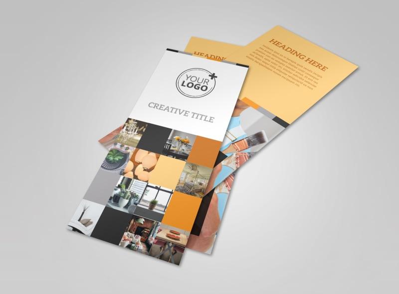 Creative Interior Design Flyer Template Preview 4