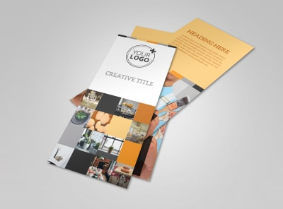 Creative Interior Design Flyer Template 2 preview
