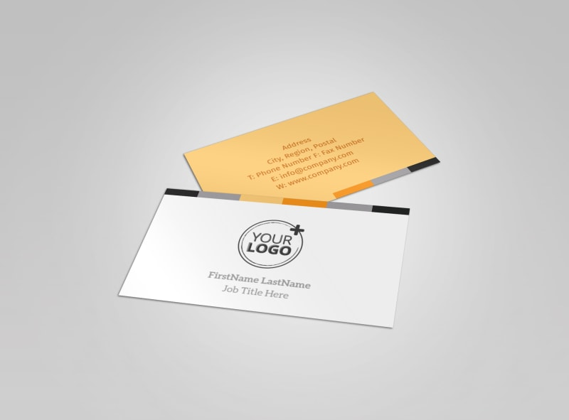 Creative Interior Design Business Card Template | MyCreativeShop