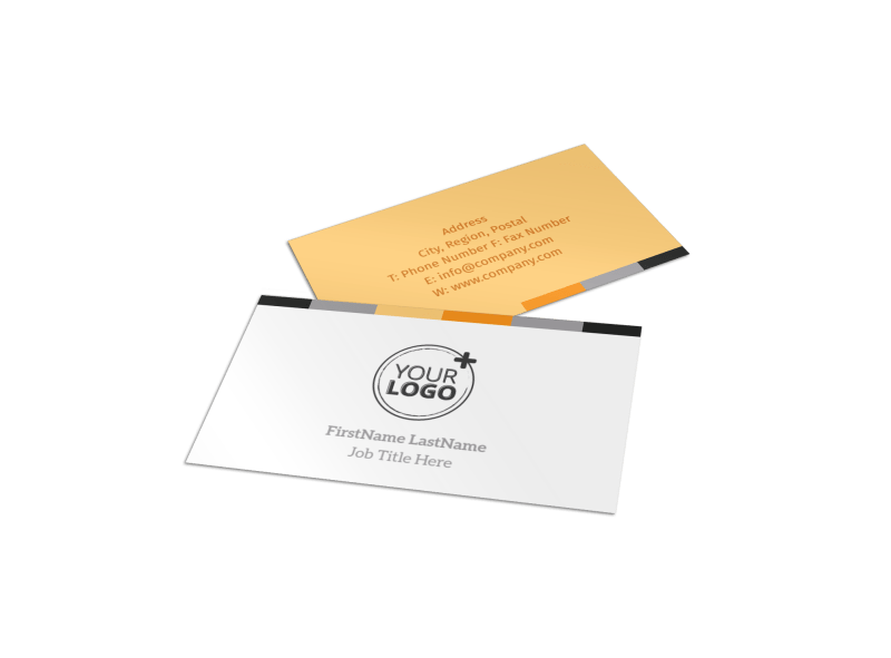 Creative Interior Design Business Card Template Preview 1