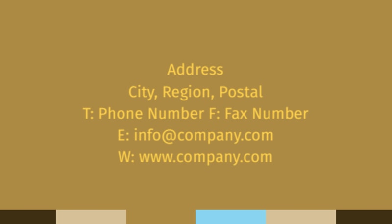 Smell Good Bakery Business Card Template Preview 3