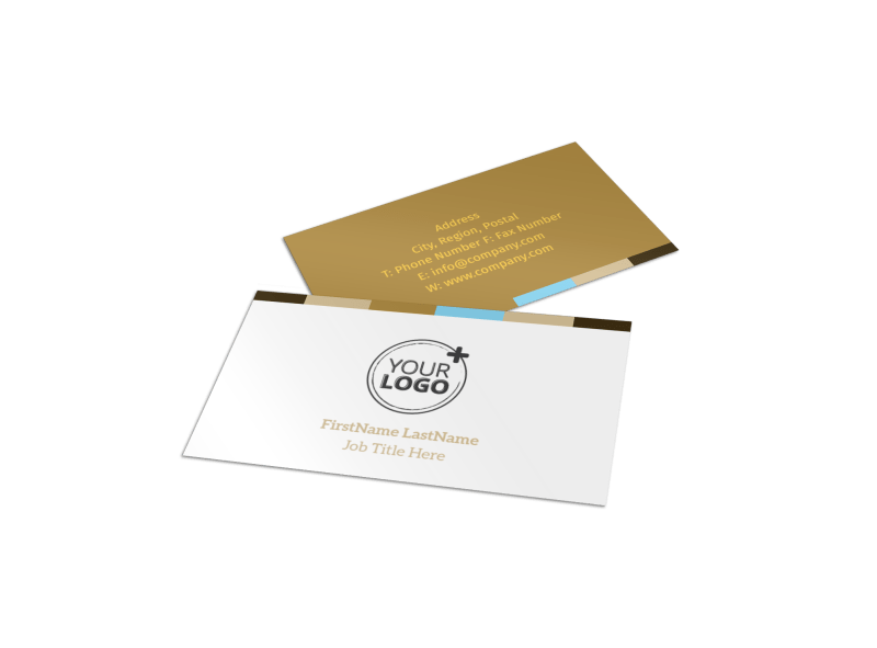 Smell Good Bakery Business Card Template Preview 1