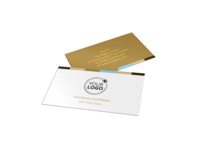 Smell Good Bakery Business Card Template
