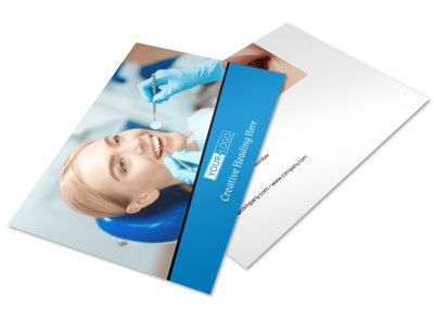 Dental Care Center Postcard Template 2