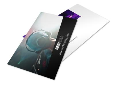 My DJ Profile Postcard Template 2 preview