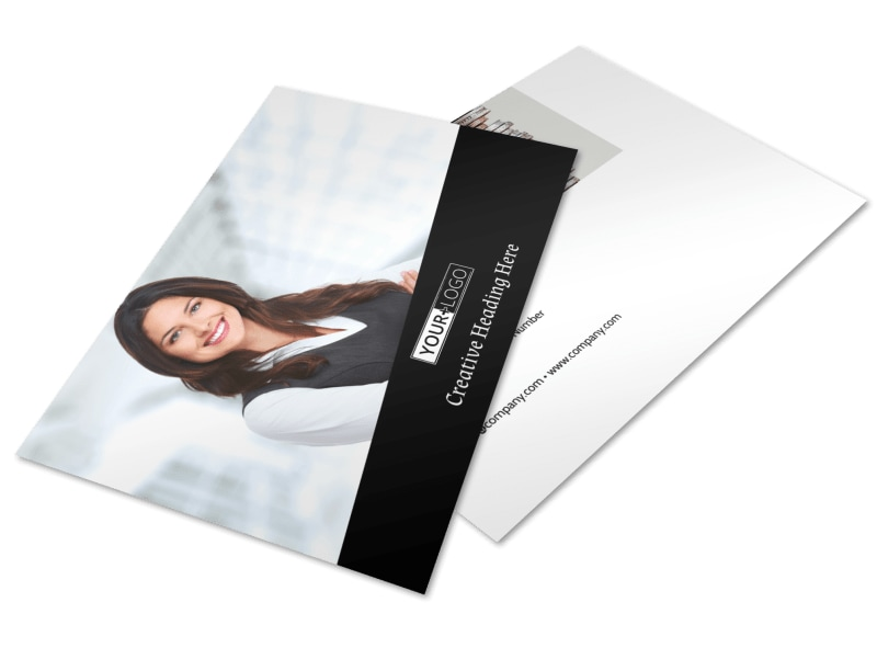 Accountant Services For Small Business Postcard Template 2