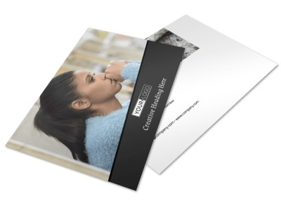 Depression Therapy Postcard Template 2 preview
