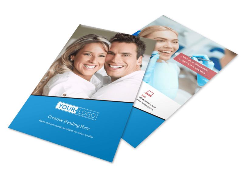 Dental Care Center Flyer Template 3