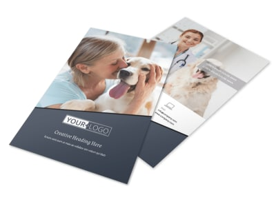 Veterinary Hospital Flyer Template 3