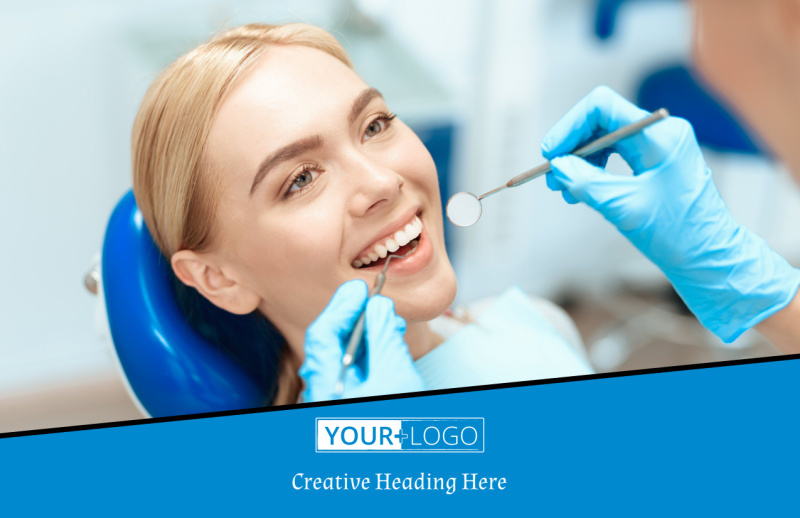 Dental Care Center Postcard Template Preview 2