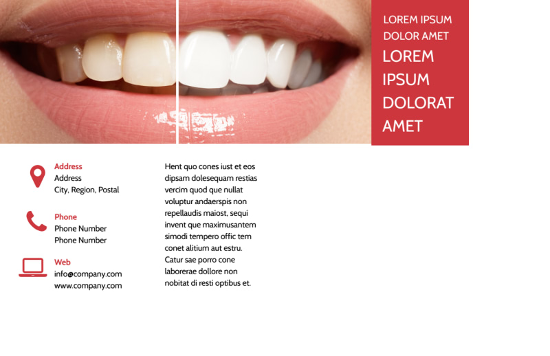 Dental Care Center Postcard Template Preview 3