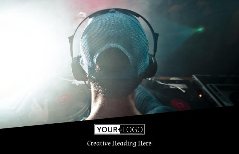 My DJ Profile Postcard Template Preview 2