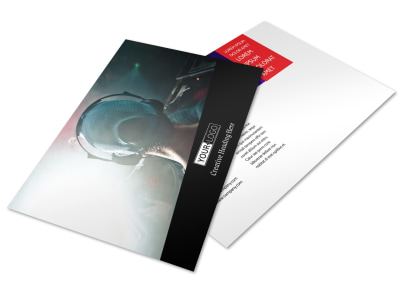 My DJ Profile Postcard Template