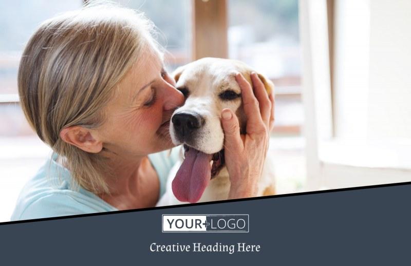 Veterinary Hospital Postcard Template Preview 2
