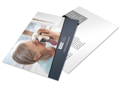 Veterinary Hospital Postcard Template