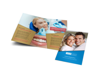 Dental Care Brochure Template preview