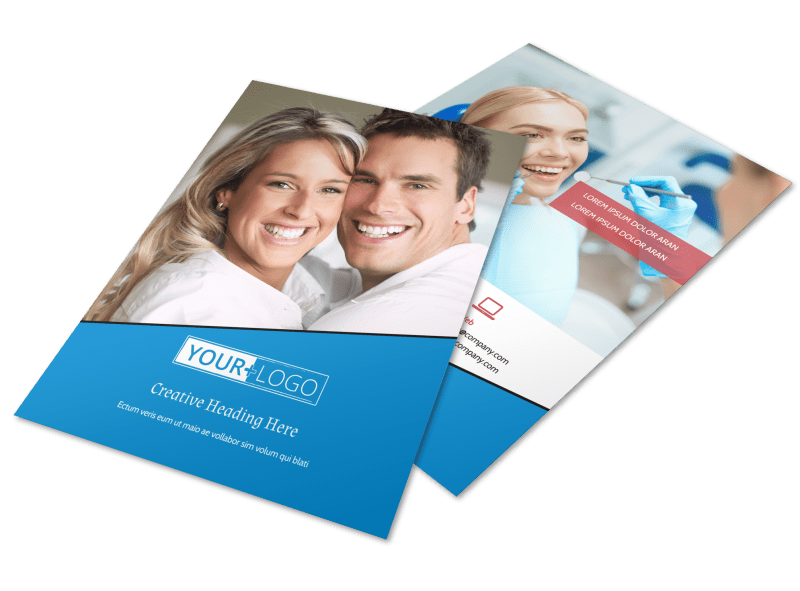 Dental Care Center Flyer Template Preview 1