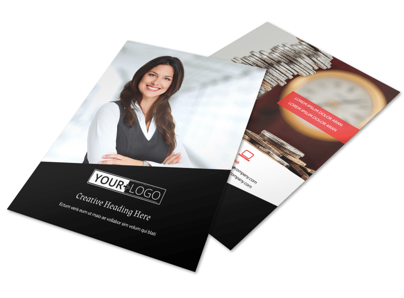 Accountant Services For Small Business Flyer Template Preview 1