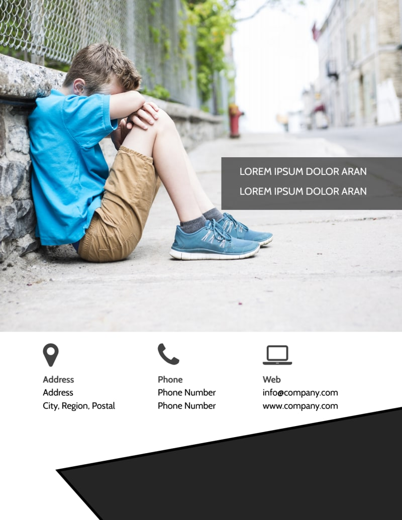 Depression Therapy Flyer Template Preview 3