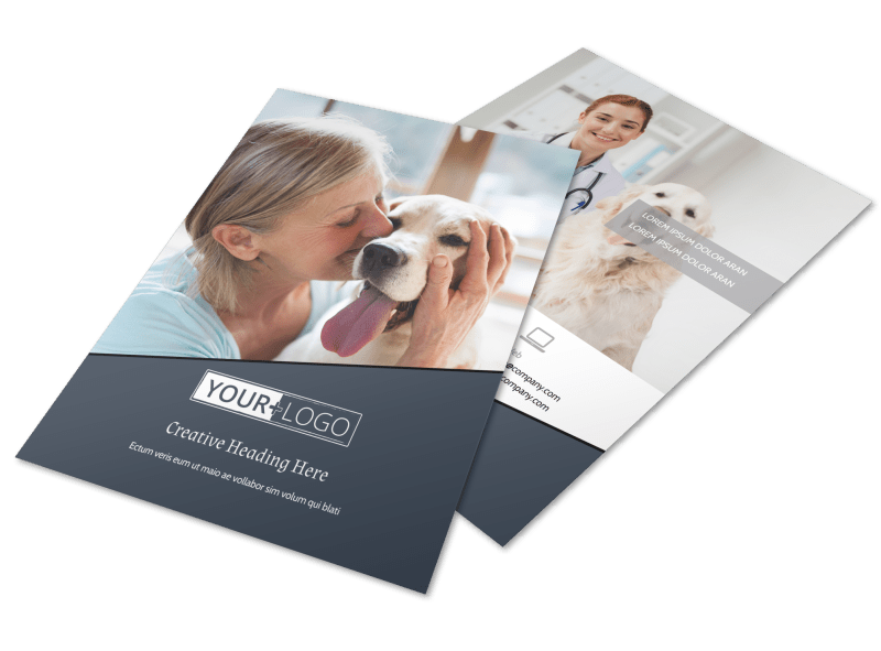 Veterinary Hospital Flyer Template Preview 1