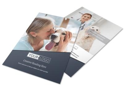 Veterinary Hospital Flyer Template