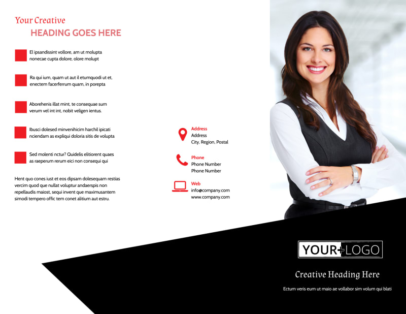 Accountant Services For Small Business Brochure Template Preview 2