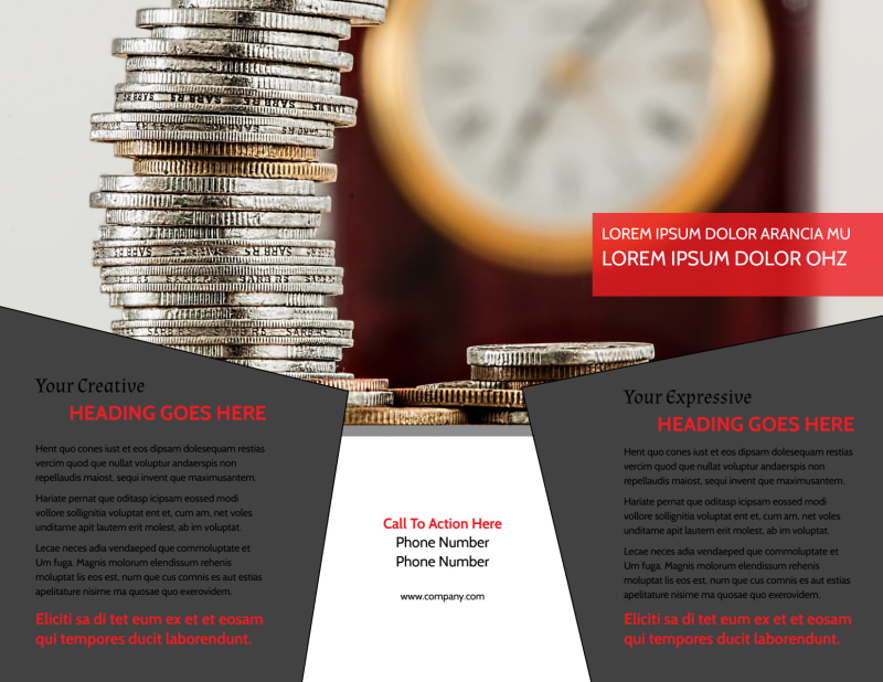 Accountant Services For Small Business Brochure Template Preview 3