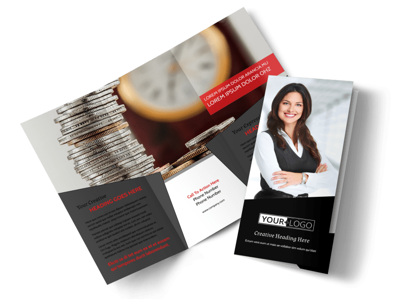 Accountant Services For Small Business Brochure Template Preview 1