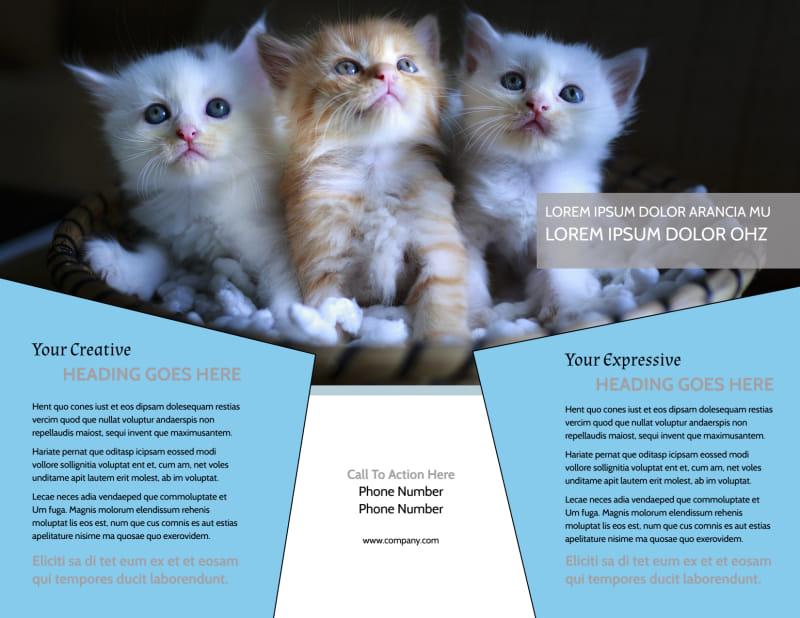 Veterinary Hospital Brochure Template Preview 3