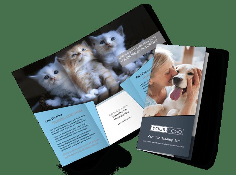 Veterinary Hospital Brochure Template Preview 1