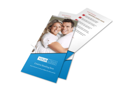Dental Care Center Flyer Template 2
