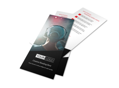 My DJ Profile Flyer Template 2