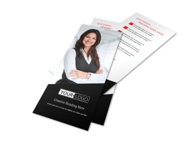 Accountant Services For Small Business Flyer Template 2 preview