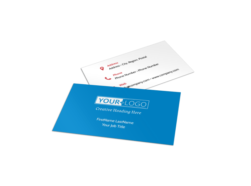 Dental Care Center Business Card Template Preview 1
