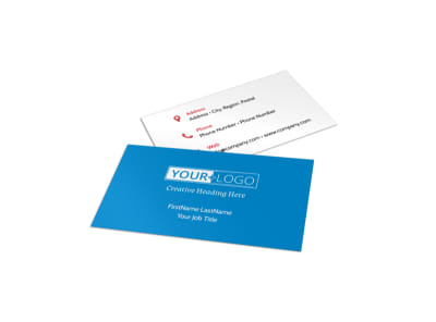 Dental Care Center Business Card Template preview