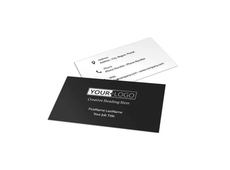 Depression Therapy Business Card Template
