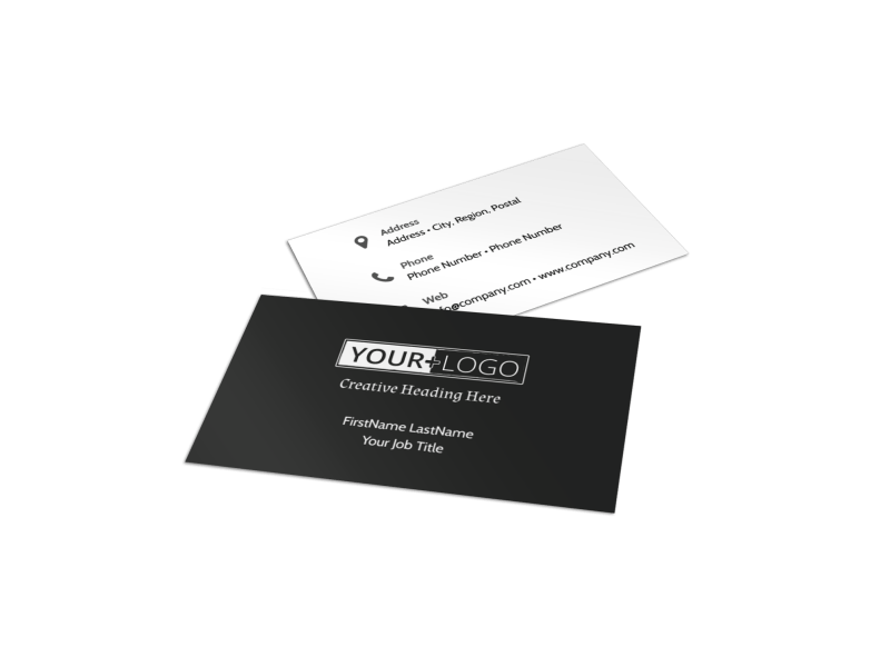 Depression Therapy Business Card Template Preview 1