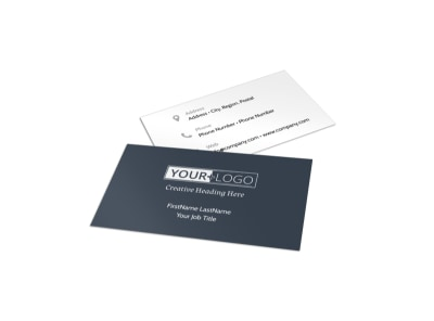 Veterinary Hospital Business Card Template preview